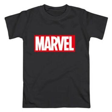 Футболки мужские с надписью Marvel