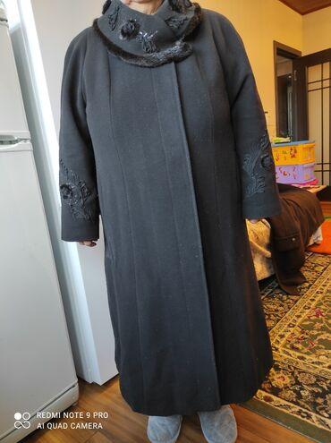 пальто женское зимнее бишкек в Кыргызстан: Пальто, кашемир, женское, Турция. Качество очень хорошее. 54-56-58