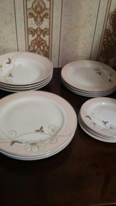 набор тарелок,все по 4штуки,новые в Бишкек