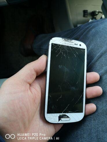 Samsung a 3 - Кыргызстан: На запчасти Samsung Galaxy S3 Mini 16 ГБ Белый