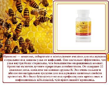 витамин прополис в Кыргызстан: ФОРЕВЕР ПЧЕЛИНЫЙ ПРОПОЛИС.Прополис-это липкая смесь пчелиного воска