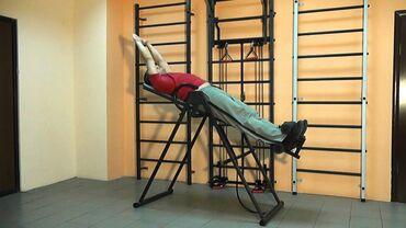 Инверсионный столСтол от грыжиТренажер от грыжиДля лечения