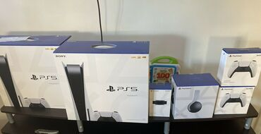 Sony PlayStation 5 Κονσόλα Λευκός δίσκος PS5 Box Blu Ray New Ssd Hdmi