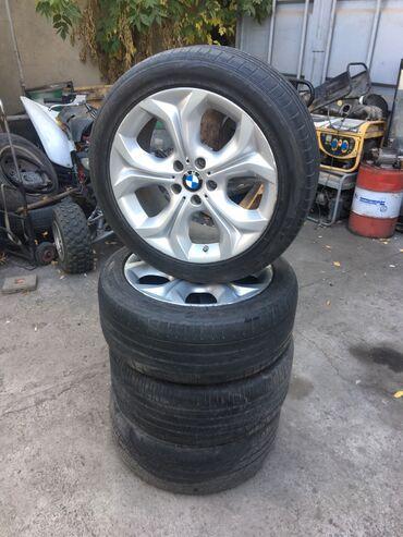 диски r19 в Кыргызстан: Продаю диски BMW R19Разболтовка 5х120Одноширокие 9jx19С резиной 255/45