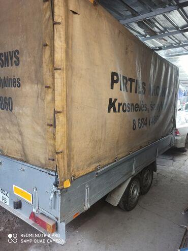 Прицеп 2 осный Германия 2х4 2 тонный