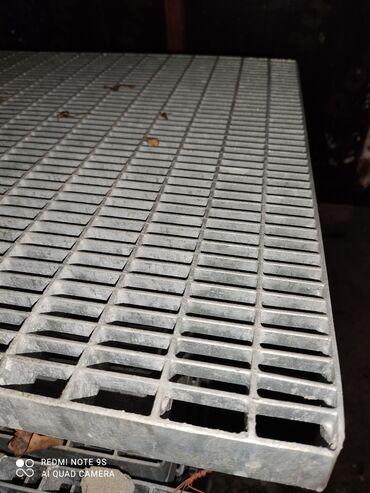 строительные бригады в бишкеке в Кыргызстан: Решетчатый настил. Оцинкованный производство Россия