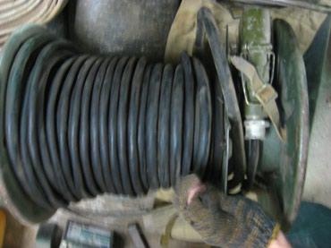 Все для электричества в Кара-Балта: Кабель медный 2-х жильныйСечение жилы -2.5 мм. Длинна - 13