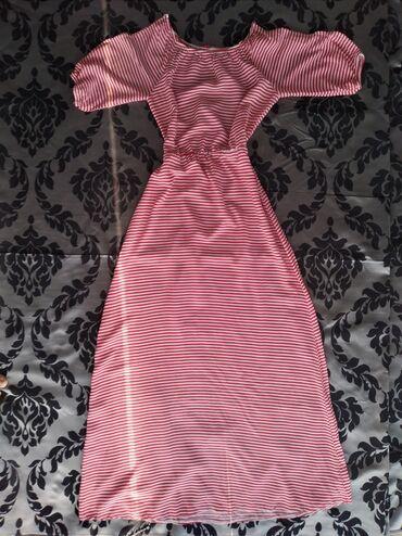Детский мир - Манас: Продаю легкое летнее платье. Материал штапель. Очень нежно смотрится