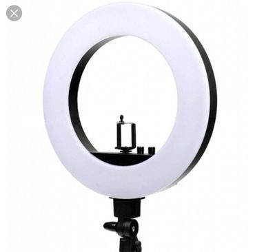 Освещение в Кыргызстан: Диодные круглые лампы для салонов красоты и фотостудий!!   Есть держат