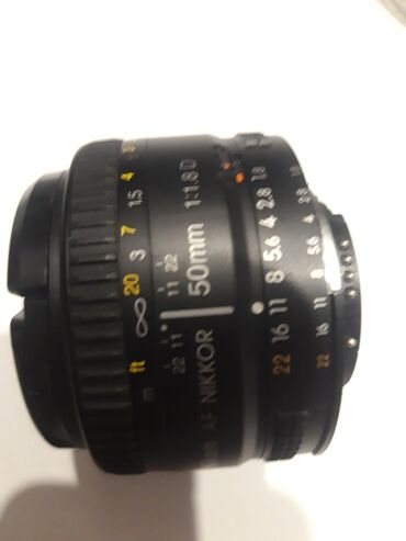 Продаю объекти nikkor 50 mm 1,8 AF NIKKOR. Почти как новая