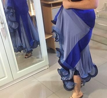 Юбка с воланом для танцев, размер 44-52 в Бишкек