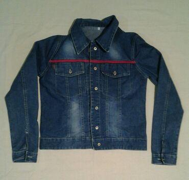 Haljinaz nemacke - Srbija: SNIŽENOOO! ! !  Teksas jakna prelepaaa, vel. M/L. Veoma kvalitetna
