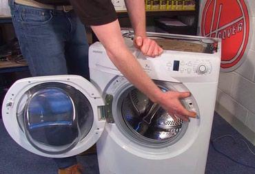 у вас дома в Кыргызстан: Ремонт стиральных машинбесплатный выезд по бишкеку в течение 30 минут