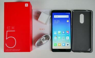 iphone 7 plus цена бу в Кыргызстан: Новый Xiaomi Redmi 5 Plus 32 ГБ Голубой