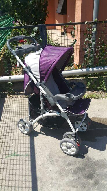 Decija kolica - Srbija: Decija kolica mogu se koristiti od rodjenja bebe,vise polozaja sa