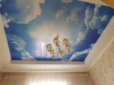 Изготовление натяжных потолков. Натяжные потолки. Натяжной потолок. в Бишкек