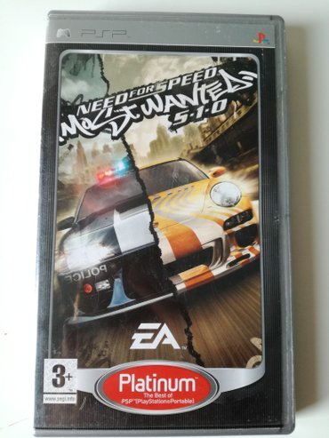 Need for Speed most wanted igrica za psp, koriscena - Beograd