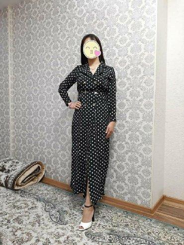 летнее платье с запахом в Кыргызстан: Плате на запах,сидит красиво и удобно