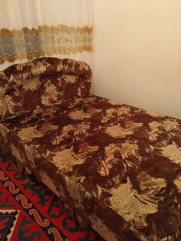 Продаю двухместный кровать, размер 2.0*1.4  прошу 4000с  в Токмак