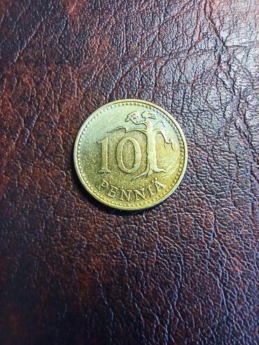Kovanica 10 pennia Finska