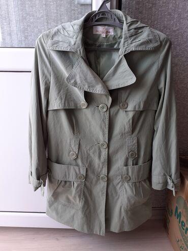 Продаётся куртка-ветровка светло зелёного цвета,материал под