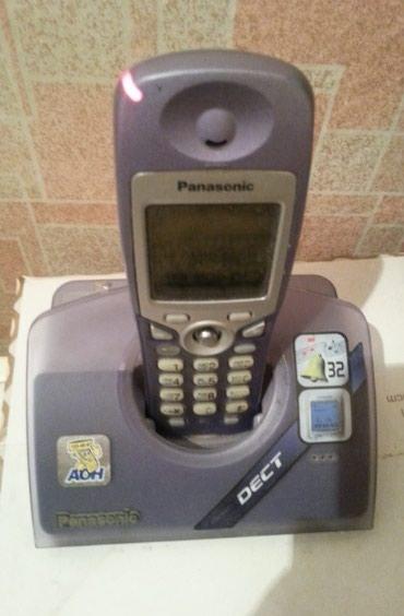 Продаю телефон Panasonic - радиотелефон, домашний, офисный, DECT. в Бишкек