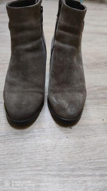Продаются сапоги -зима, 36 размер . Натуралка -замши,мех овчинный