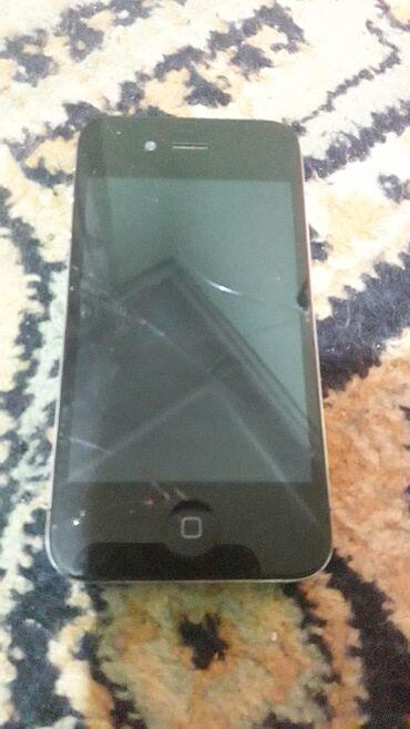 alcatel hero 2 в Кыргызстан: Б/У iPhone 4 8 ГБ Черный