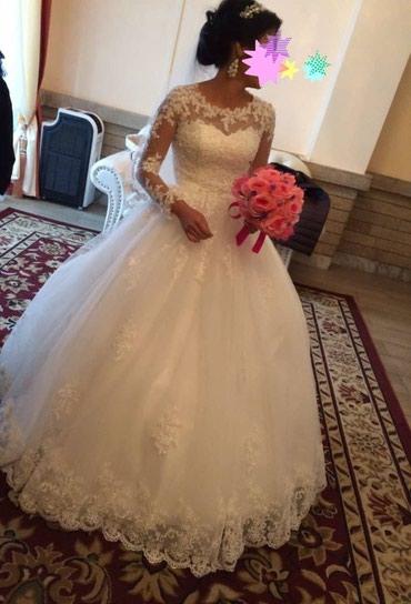 свадебное платье напрокат в Кыргызстан: Продажа. Одевалось только один раз. Очень красивое платье. Возможен
