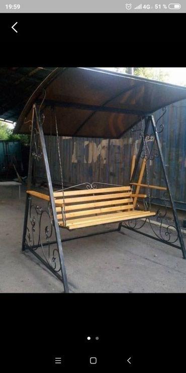 Скамейка качели , на заказ , из в Бишкек