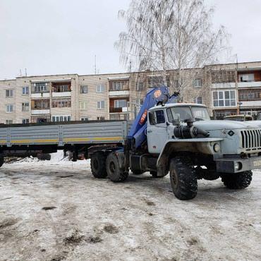 Урал 44202 седельный тягач с КМУ и п/п в в Бишкек