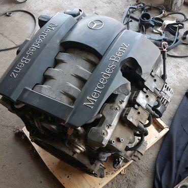 Двигатель Мерседес 2001год, 3.2 бензин, (А112)В сборе с навесным, в