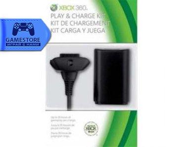 Аккумулятор + usb кабель для джойстика xbox360 в Бишкек
