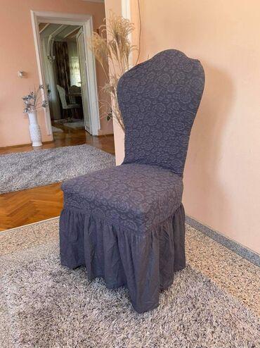 Kuća i bašta - Ivanjica: NOVI MODELUniverzalne rastegljive navlake za stolice6 komada-3.400