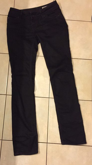 Tommy Hilfiger Black Jeans . Vistorua Straigh Denim . Ίσια γραμμή . Μέ