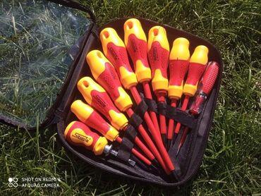 Setovi instrumenata - Arandjelovac: Sibate Set od 10 šrafcigera Samo 1.499 dinara.Porucite odmah u Inbox