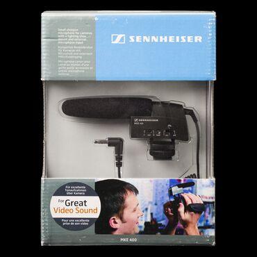 Электроника - Бишкек: MKE 400 SennheiserКомпактный микрофон «пушка» MKE 400 сконструирован