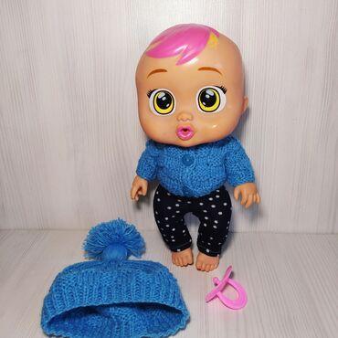 baby care в Кыргызстан: Кукла CRY BABY  Высота 27см В хорошем состоянии  Одежда новая
