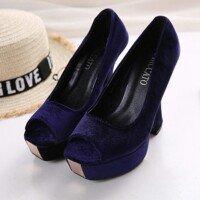 Новые велюровые туфли разм. 36. 5-37 в Лебединовка