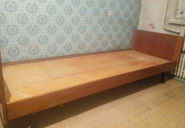 Продаю односпальную дерев. кровать,без матраса. Очень в Бишкек