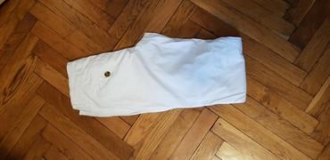 Bele-siroke-pantalone - Srbija: Bele tajmaut pantalone extra ocuvane