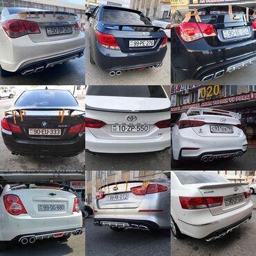 Avtomobil aksesuarları - Azərbaycan: Avtomobil üçün arxa spoylerlərMercedes, Bmw, Nissan, Hyundai, Kia