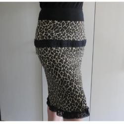 Pamucni koncani - Srbija: Animal suknja jesen /zima XL  Topla suknja za jesen /zimu,cela je tegl