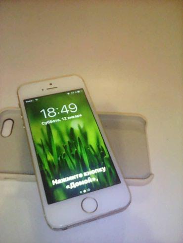 Айфон 5G память 16гб, в комплекте узби в Novopokrovka