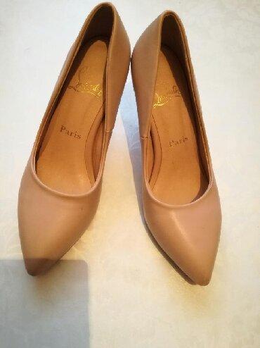 замшевые туфли бежевого цвета в Кыргызстан: Женские туфли 35.5