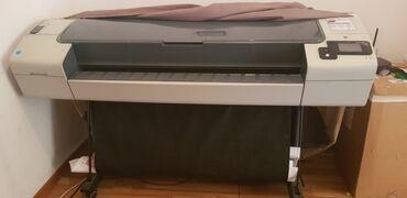 купить широкоформатный принтер в Кыргызстан: Продаю широкоформатный струйный плоттер HP Desingjet T790 44' формат
