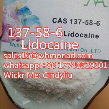 Lidocaine powder of cas 137-58-6 with best price fast delievery