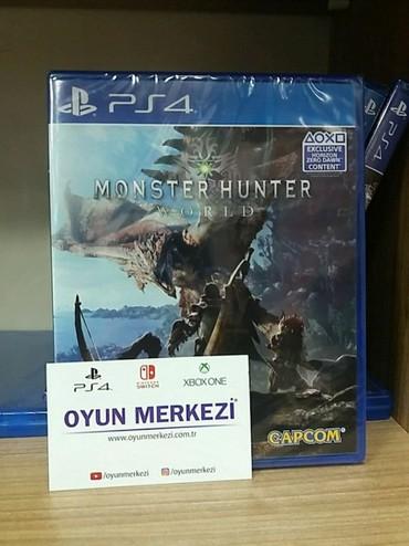 Bakı şəhərində Monster Hunter