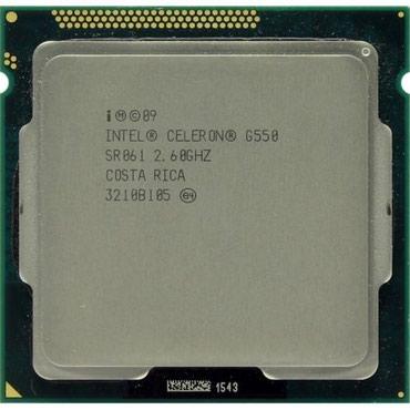 Процессоры intel celeron - Кыргызстан: 1155 сокет intel celeron G550 2.60Ghz процессор продается состояние