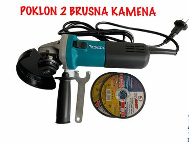 no secret b u Srbija: Brusilica 840w makitapoklon dva brusna kamena 115mmizvanredan uređaj